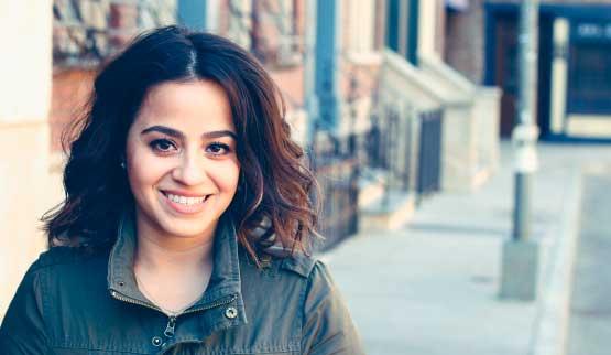 Deissy Costanza Reyes, alumna de Wall Street English